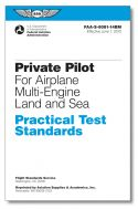 ASA Private Pilot - Airplane - Multiengine - Land & Sea Practical Test Standards