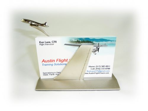 Airplane business card holder austinflightcheck airplane business card holder colourmoves