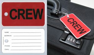 AeroPhoenix Gelflex Crew Tag - Four Colors Available!