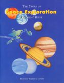 The Story of Space Exploration Coloring Book