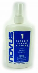 Novus Polish Plastic Clean & Shine - 8 oz