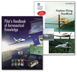 Combination Pack: Pilots Handbook of Aeronautical Knowledge & Airplane Flying Handbook