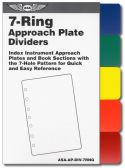 ASA 7-Ring Color Dividers for Jeppesen-style Binders