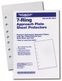 Poly Sheet Protectors - For 7-Ring Jeppesen Style