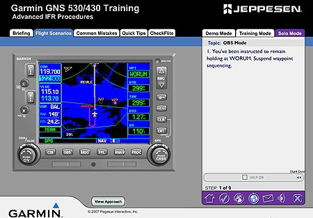 Austin Flight Check - Jeppesen 430-430 Training