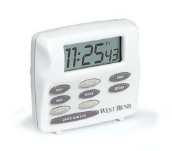West Bend Triple Digital Timer & Clock