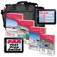 Gleim Airline Transport Pilot Kit with Online Test Prep and Ground School - 2020