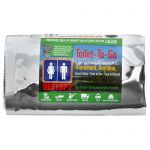 RESTOP 2 Disposable Urine & Solid Waste Bag - Single Bag