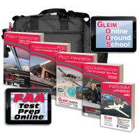 Gleim Flight-Ground Instructor Kit with Online Test Prep and Ground School - 2020