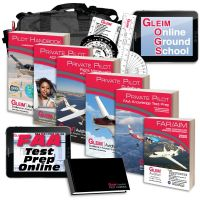Gleim Deluxe Private Pilot Kit with Online Ground School - 2020