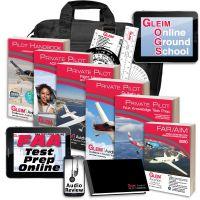 Gleim Deluxe Private Pilot Kit with Online Ground School & Audio Review - 2020